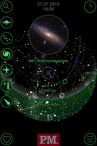 GoSkyWatch Planetarium - Astronomy Night Sky Guide screenshot 3