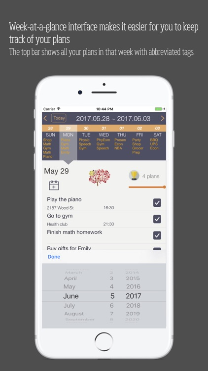 Planett: Simple daily & weekly todo list / planner screenshot-2