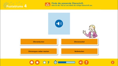 Pusteblume – Deutsch Klasse 4 screenshot three