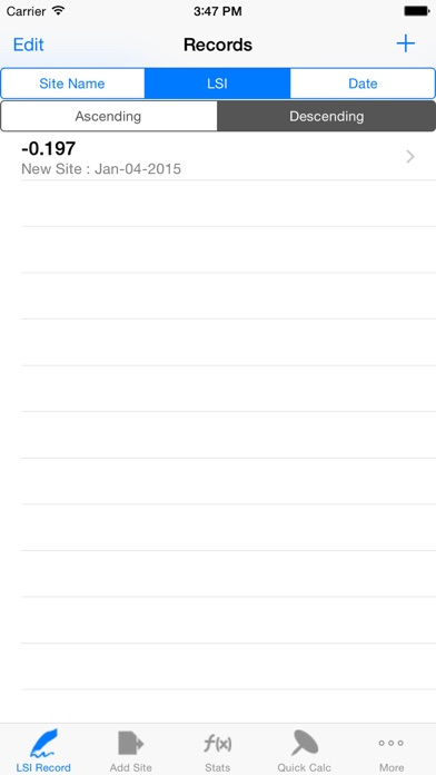 Langelier Saturation Index Lsi Job Logbook review screenshots