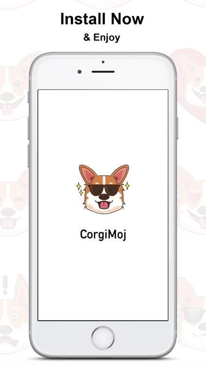 CorgiMoj - Corgi Emoji & Stickers screenshot-3