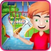 Swimming Pool Water Slide: Repair & Decorate