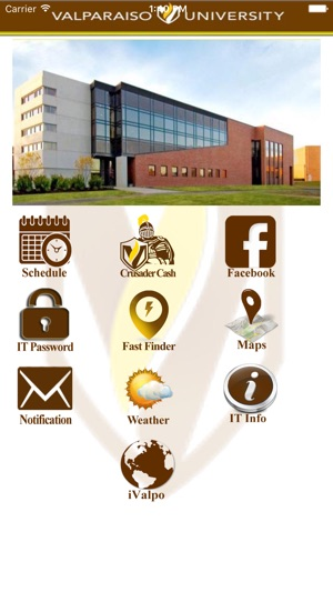 Valparaiso Campus Map.Valparaiso University Focus On The App Store