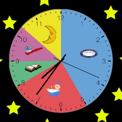 Kids Clock: A Visual Activity Clock for Kids on the App Store