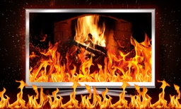 Screen Fantasy Fireplace