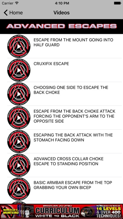 BJJ Advanced Escapes - Brazilian Jiu Jitsu screenshot-3