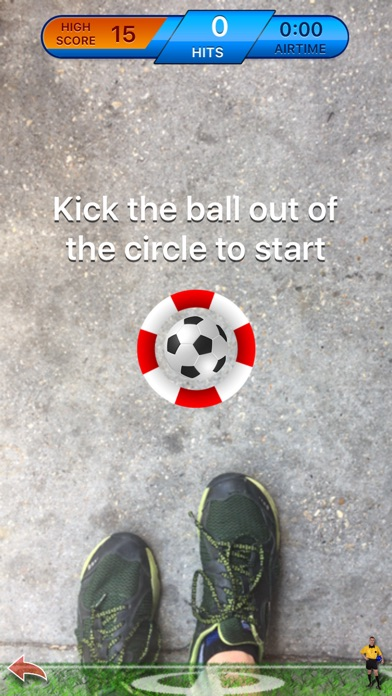 ARSoccer - Augmented Reality Soccer Game Screenshot 2