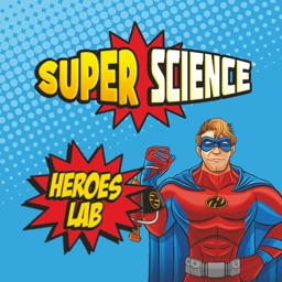 Super Science Heroes Lab AR Laser