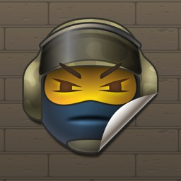 CSGO Stickers and emoji