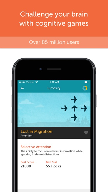 Lumosity - Brain Training screenshot-0