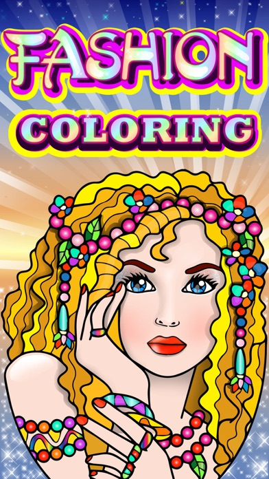 Fashion Colouring Dress Up Books for Adults Games