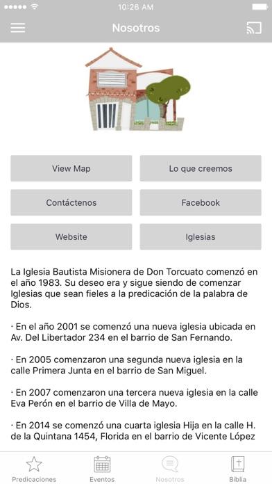 Iglesia Bautista Argentina screenshot 3