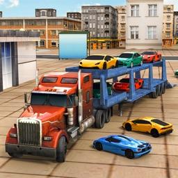Car Transporter Big Truck Game