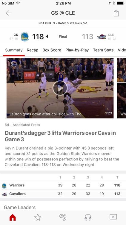 ESPN: Watch Live Sports and Scores screenshot-3