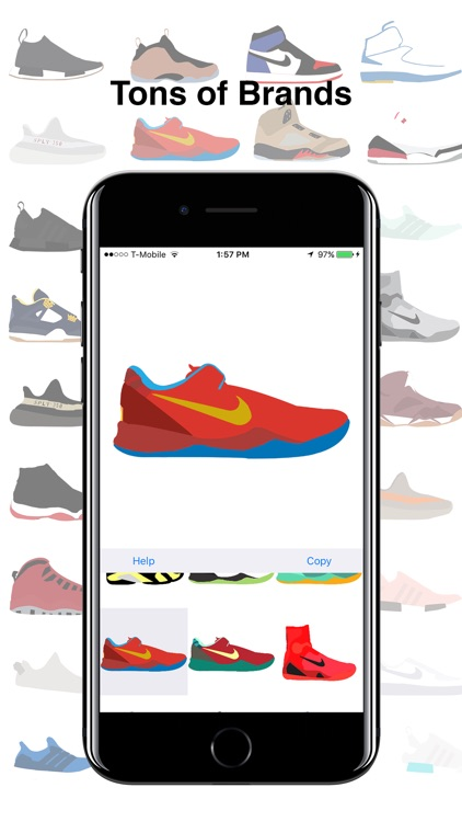 ShoeMoji - Sneaker Emojis screenshot-3