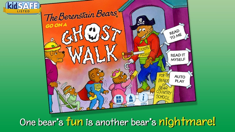 The Berenstain Bears Go on a Ghost Walk