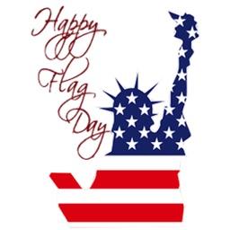 Happy Flag Day 2017 Sticker