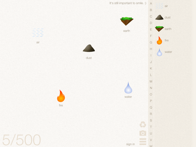 ‎Little Alchemy Screenshot