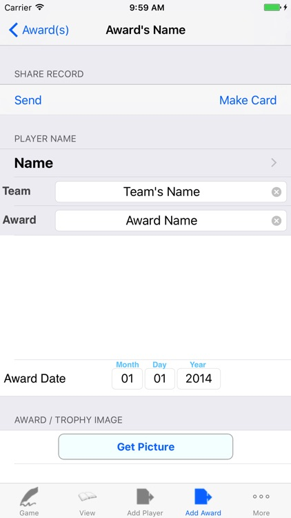 Soccer Player Tracker, Stats Logbook & Game Notes screenshot-4