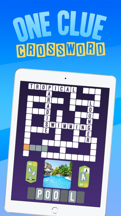 Crossword : One Clue Picture Crosswords screenshot-0