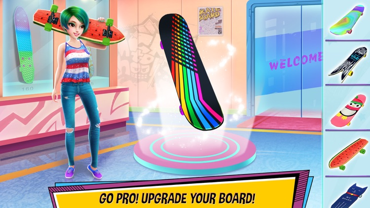 City Skater Board Master screenshot-2