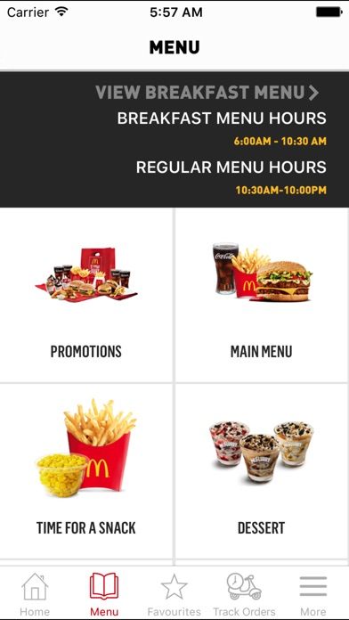 Screenshot for McDelivery South Africa in Denmark App Store