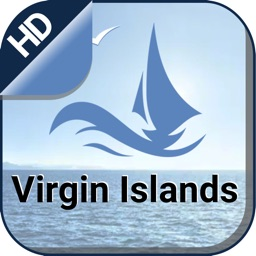 Virgin Island boating Nautical offline fishing map