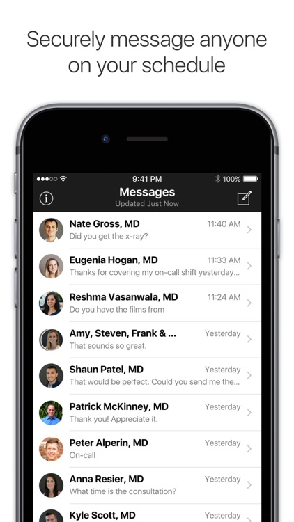 Amion - Physician Scheduling screenshot-3