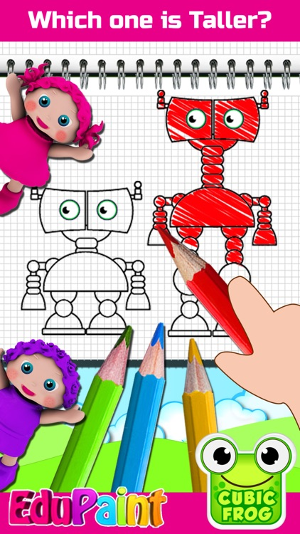 Kids Coloring Book-EduPaint screenshot-3