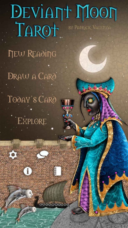Deviant Moon Tarot screenshot-0