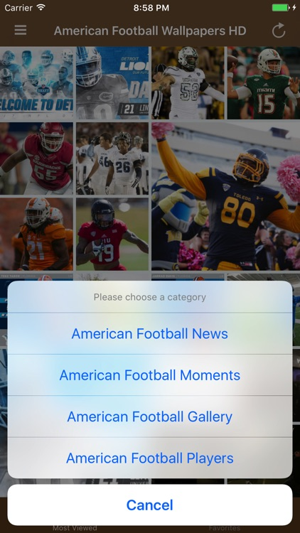 American Football Wallpapers HD - New Theme Mobile