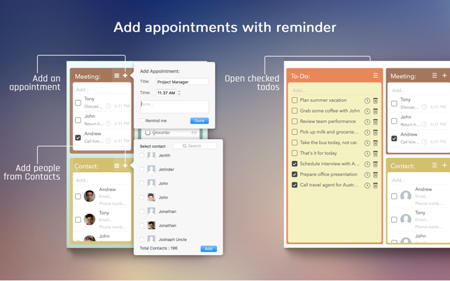 Day Plan on the MacAppStore