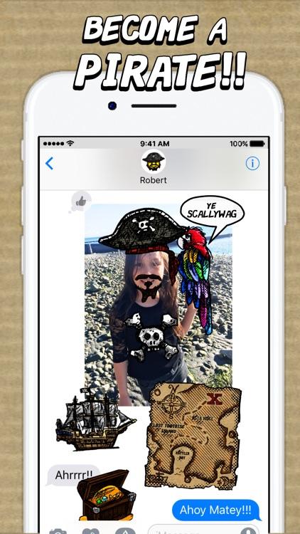 Ye Old Time Pirate Mojis screenshot-3