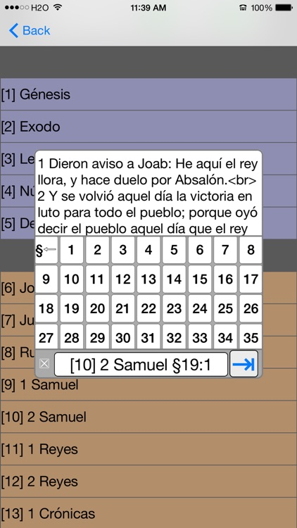 Santa Biblia Version Reina Valera screenshot-3