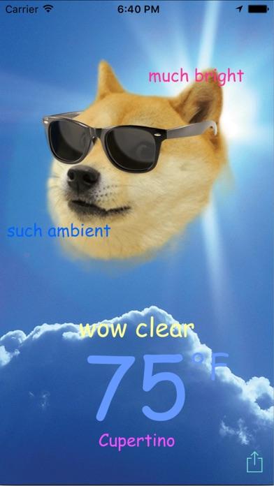 Doge Weatherのおすすめ画像1