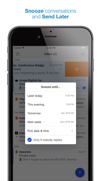 Missive - Team Email, Chat and Tasks screenshot-3