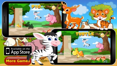 Animals Puzzle Vocabulary Screenshot