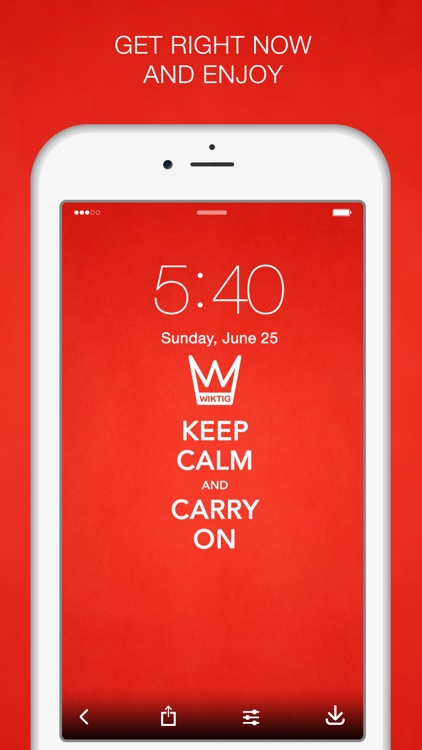 Keep Calm Wallpapers & Keep Calm Quotes screenshot-4