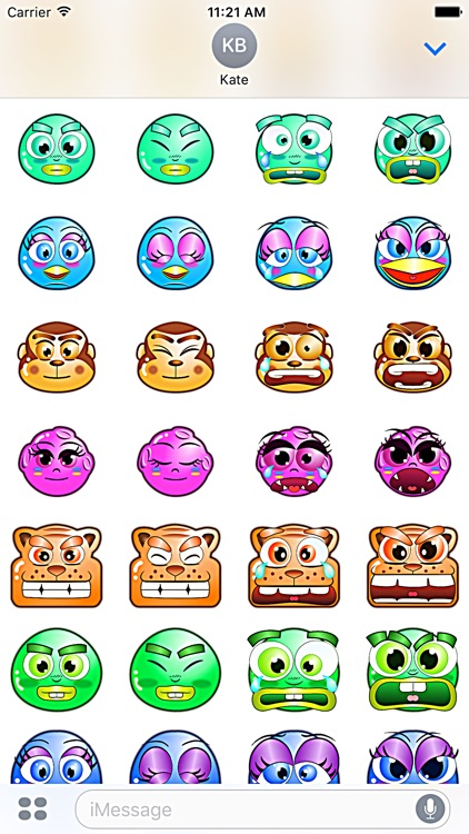 Bumperoid: Stickers for iMessage screenshot-2