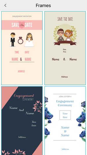 Custom Engagement Invitation Card Maker On The App Store
