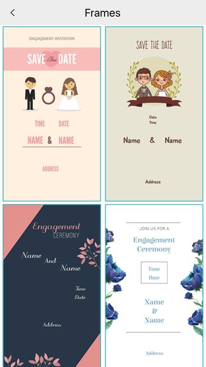 Custom Engagement Invitation Card Maker By Goti Bhagvanbhai