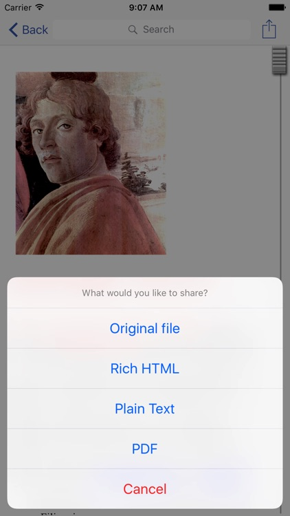 WordPerfect Viewer for iPhone