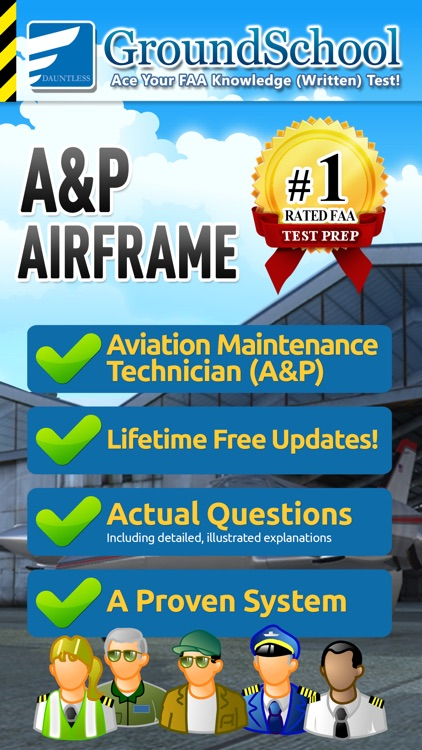 FAA A&P Airframe Test Prep screenshot-0