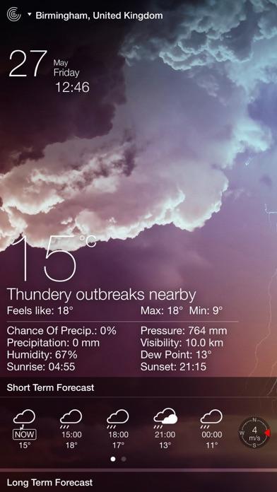 Weather Live Reloaded Screenshot 2
