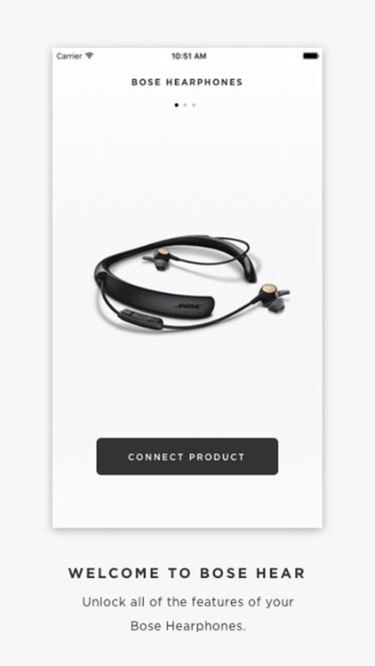 Bose Hear – ONLY For Bose HEARphones™
