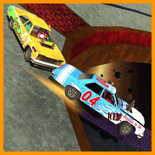 Xtreme Car Stunts Derby 3D