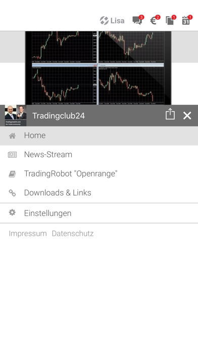 Tradingclub24 screenshot 2