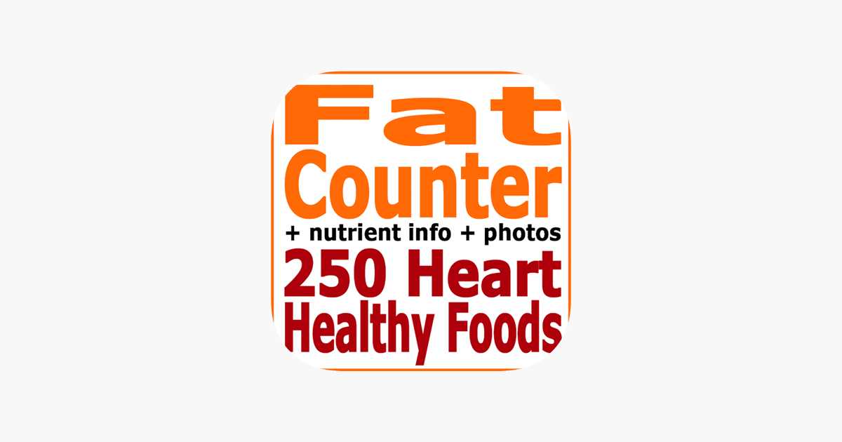fat counter and tracker for healthy food diets on the app store