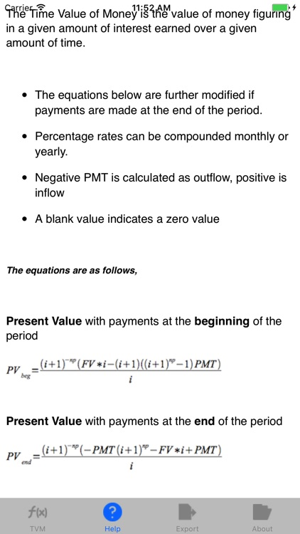 TVM: Time Value of Money, Financial Calculator