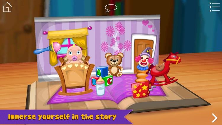 Grimm's Rapunzel ~ 3D Interactive Pop-up Book screenshot-4